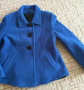 пальто подобное с поясом