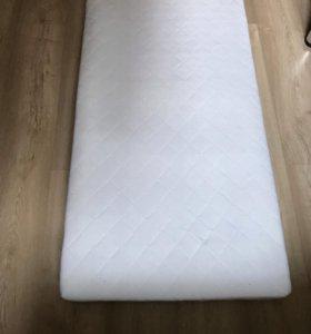Матрасик в детскую кроватку Икеа