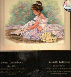 Набор для вышивки Дименшенс 35245 Милая балерина