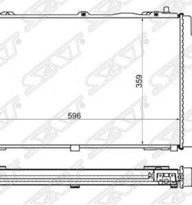 Радиатор AUDI 80/90 1.6/1.9TD/2.0 91-96