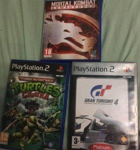 Диски PlayStation 2