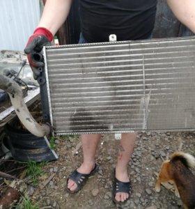 Радиатор ваз 2110. моторчик печки . радиатор печки