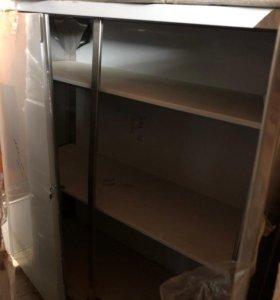 Шкаф, полка из нержавеющей стали