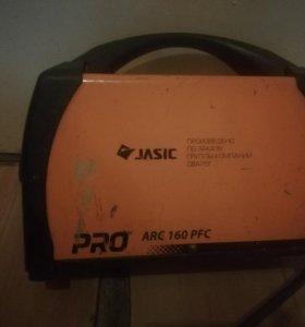 Инвекторный сварочный аппарат jasic pro arc 160pfc
