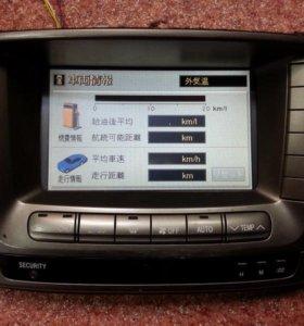 Мультидисплей Toyota LC100, Cygnus