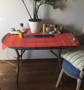 Стеклянный стол бу
