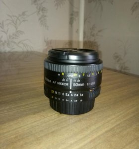 Объектив Nikon AF Nikkor 50mm