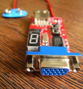 VGA генератор сигналов