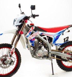 Кроссовый мотоцикл 250-450куб.см, 2Т-4Т