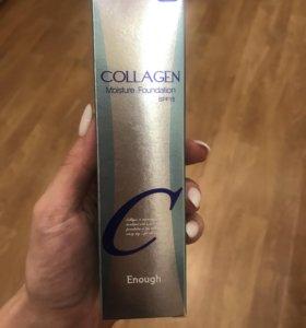 Корейский Тональный крем Collagen