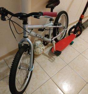 Велосипед для девочки 5-7 лет