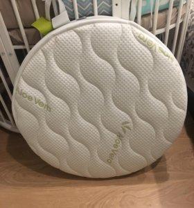 Матрас для круглой кроватки 75х75