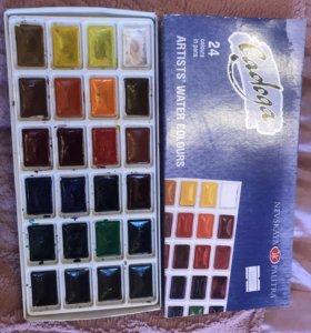 Акварель Ладога, 24 цвета