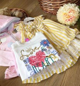 Новая Детская Одежда из Европы