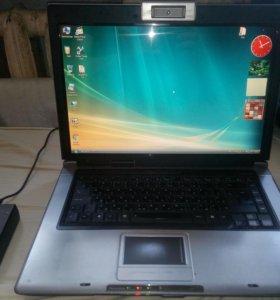 2-х ядерный ноутбук 15.4 дюйма c SSD Asus F5RL