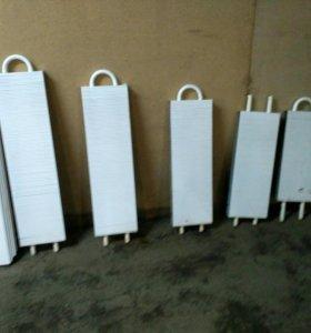 Радиаторы отопления, ( батареи) 5 шт с экраном.