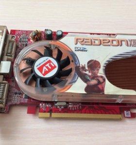 Видеокарта Radeon X 1600 PRO