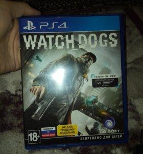 Игра для ps4, watch dogs