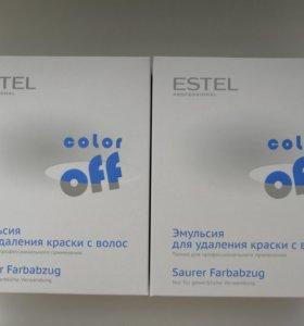 Эмульсия для удаления стойких красок с волос Estel