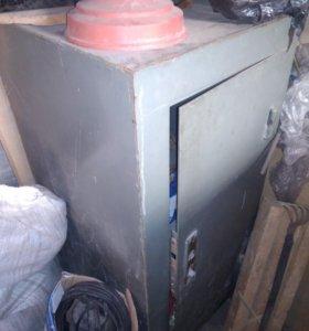 Сейф металлический 50*50*113 толщина стали 6 мм