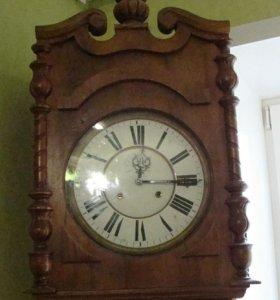 Часы старинные напольные 19 век