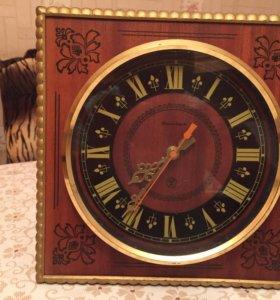 Часы Янтарь на ходу