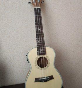 Электро-акустическое укулеле