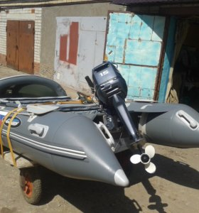 Продам лодку пвх гладиатор и мотор Yamaha 15