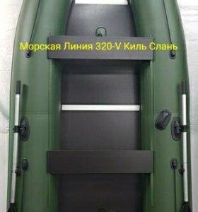 Лодка моторная 320 новая пр-во Уфа