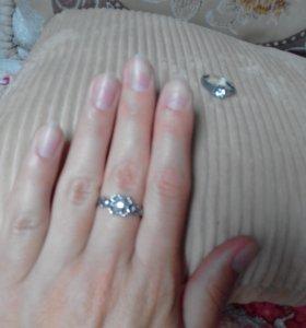 кольца серебрянные