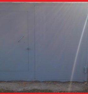 Гаражные ворота и Забор из Профнастила