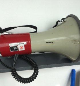 Громкоговоритель рупорный (мегафон)