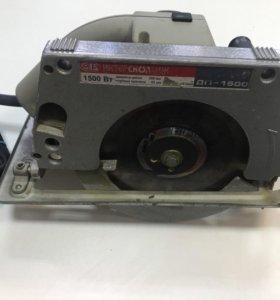 Дисковая пила Интерскол ДП-1500 МА