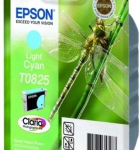 Картридж Epson light cyan T0825