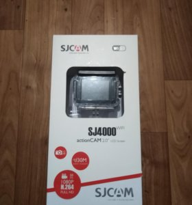 Экшен камера SJCAM SJ4000wi-fi