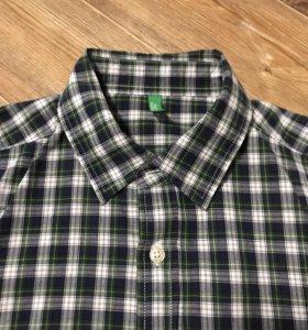 Рубашка Benetton. Размер 46.