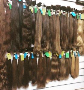 Детские донорские волосы, срезы волос