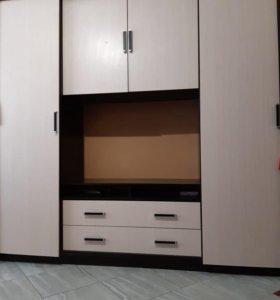 Шкаф-стенка(в 🎁 двухяростная кровать)