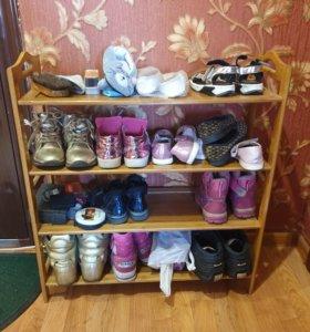 Полка под обувь