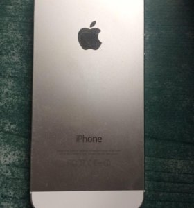 iPhone 5s silver 16gb обмен.