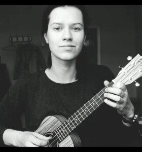 Уроки игры на гитаре, укулеле