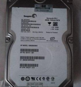 Жёсткий диск 250 Gb