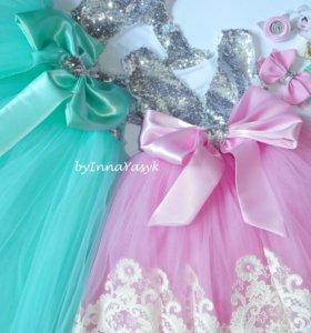 Платья для девочек на заказ