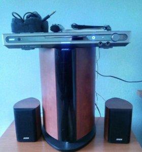 Музыкальный центр 2.1 BBK DK1830SI