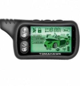 Сигнализация tomahawk T9010 с автозапуском
