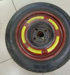 15 диск запасного колеса(докатка) для Ауди 80/90 B3 1986-1991.