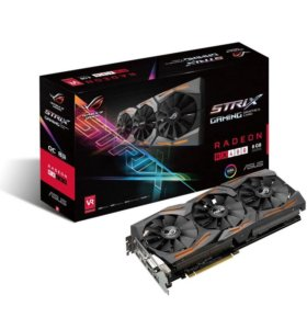Видеокарта Asus Radeon RX480 8 gb