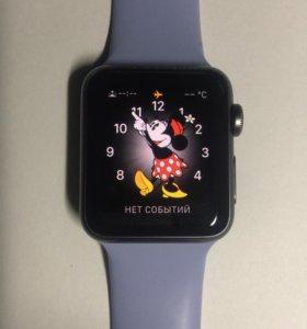 Apple Watch s1 38mm с зарядкой