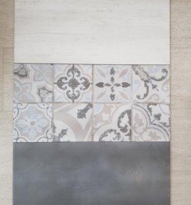 Плитка керамическая, настенная, остатки