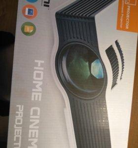 Проектор LED , для просмотра домашнего кино.